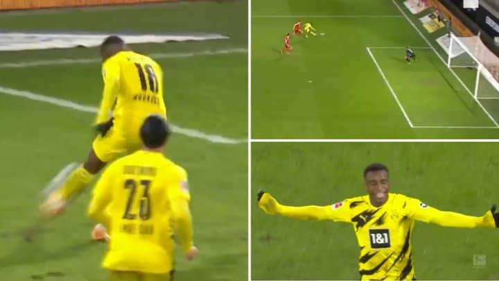 Borussia Dortmund Teenager Youssoufa Moukoko Becomes Youngest Goalscorer In Bundesliga History, Aged 16 And 28 Days