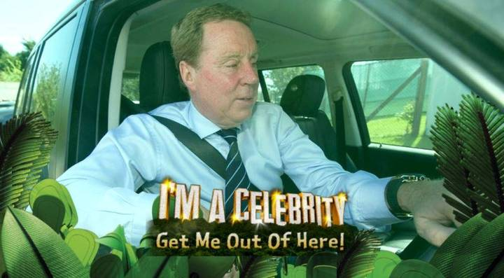 Harry Redknapp Has Arrived In I'm A Celebrity...Get Me Out Of Here!