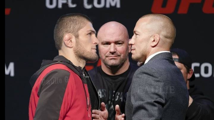 Khabib Wants Super-Fight With Georges St-Pierre In November Before GSP Retirement