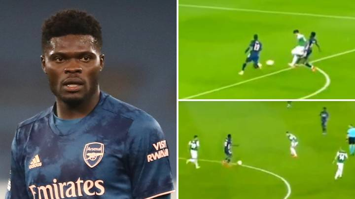 Highlights Of Thomas Partey Show He Had 'One Of The Best Debuts'