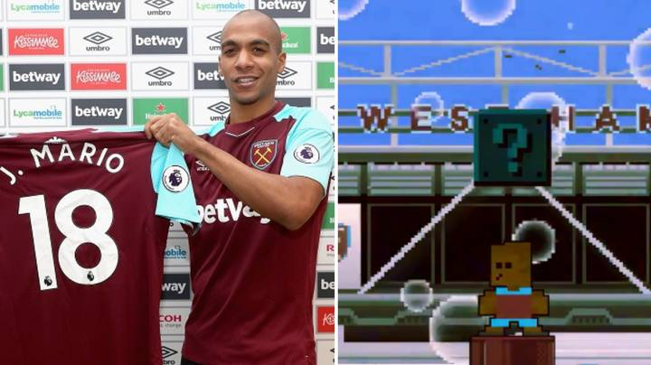 West Ham Used Super Mario To Announce Their Latest Signing