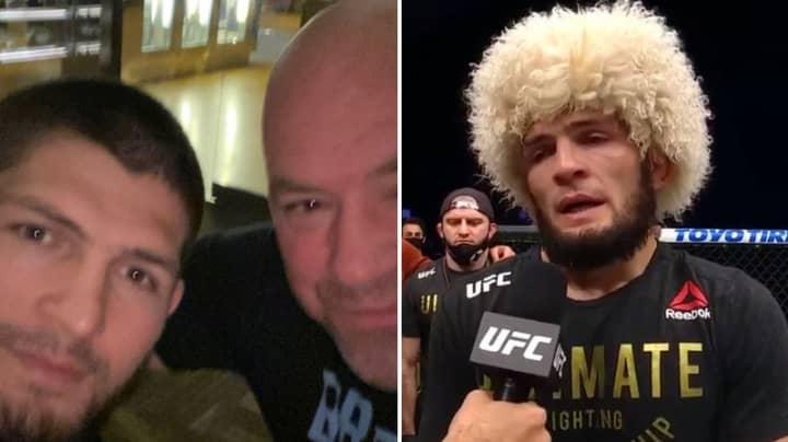 Dana White Confirms Khabib Nurmagomedov's Retirement From UFC