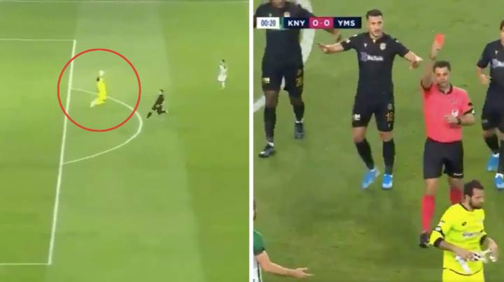 Konyaspor Goalkeeper Serkan Kirintili Records Fastest Red Card In Turkish Football History After Just 13 Seconds