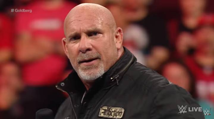 WATCH: Goldberg Makes His WWE Comeback After 12 Years Away