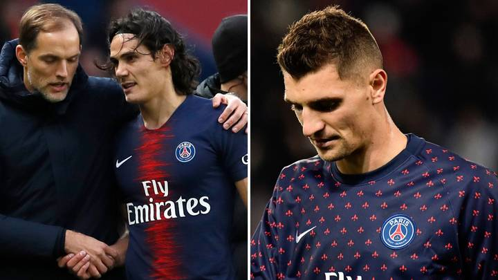 Edinson Cavani And Thomas Meunier Could Be Ruled Out Of Manchester United Match