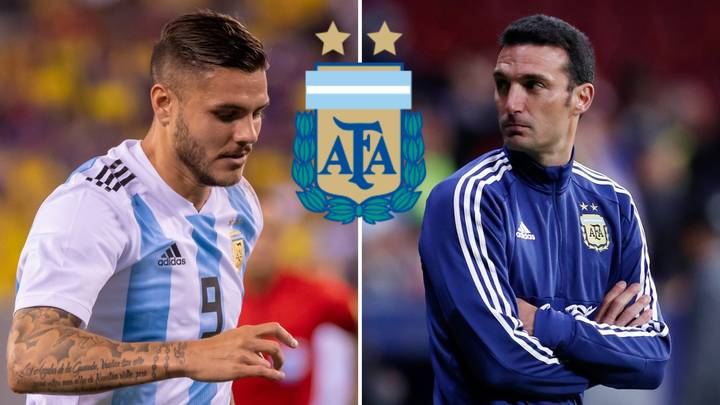 Lionel Scaloni Explains Why He Snubbed Mauro Icardi From Argentina's Copa América Squad