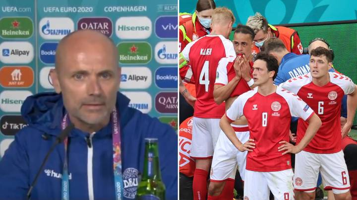 Denmark's Doctor Explains Exactly What Happened On The Pitch After Christian Eriksen's Collapse