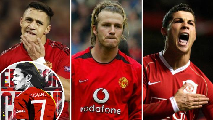 Man United's No 7s In Premier League Era Ranked From Best To Worst After Edinson Cavani's Arrival