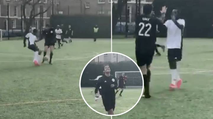 Kaka Gets Nutmegged In Seven-A-Side Game And His Reaction Is Priceless