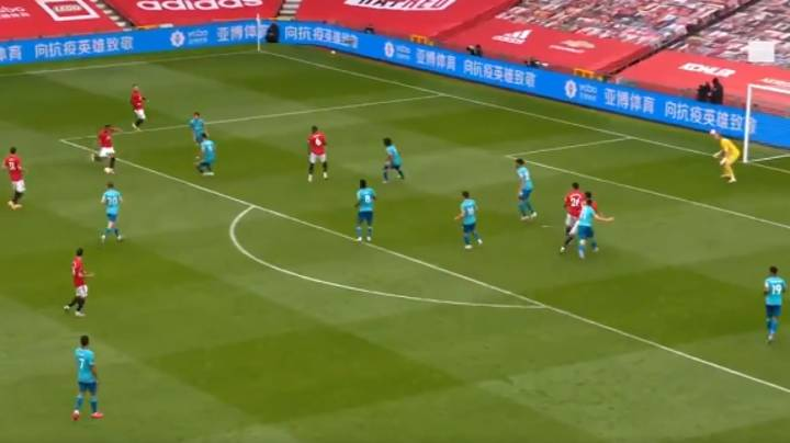 Manchester United's Anthony Martial Curls In Stunning Long Range Goal Against Bournemouth