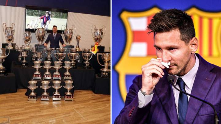 Lionel Messi Reveals His One Regret At Barcelona After Emotional Farewell