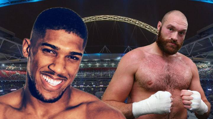 Tyson Fury Offered Chance To Fight Anthony Joshua On April 13th At Wembley Stadium
