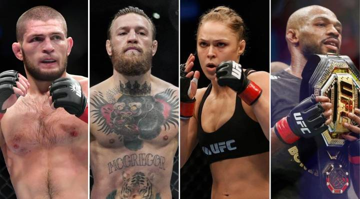 The 50 Greatest MMA Fighters Of All Time Have Been Named