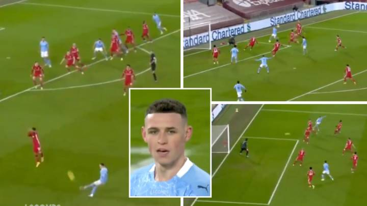 Phil Foden's Highlights Against Liverpool Show He's A Generational Talent