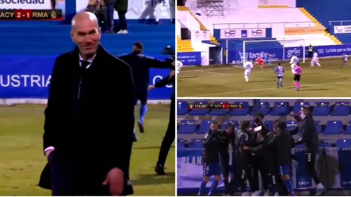 Zidane says he still has players' backing after Real Madrid cup humiliation
