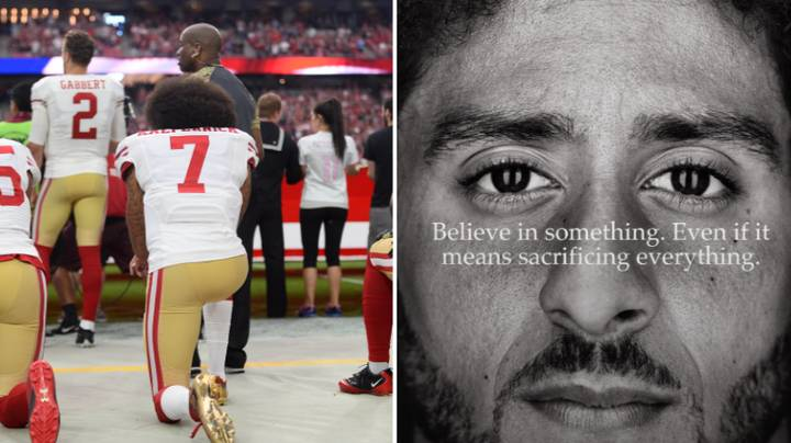 Colin Kaepernick Becomes Face Of Nike's 'Just Do It' Campaign