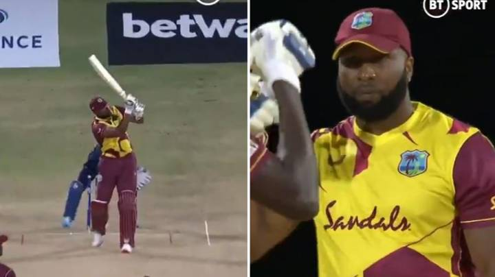Kieron Pollard Becomes Third Player To Hit Six Sixes In An Over In An International Match