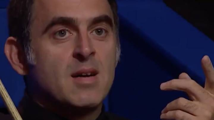 Ronnie O'Sullivan's Reaction To Being Interrupted By 'Disco Inferno' Is All-Time