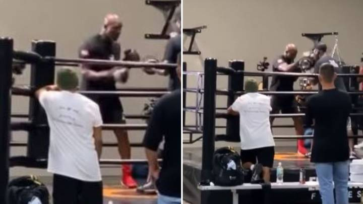 Behind The Scenes Footage Of Evander Holyfield Training Leaked