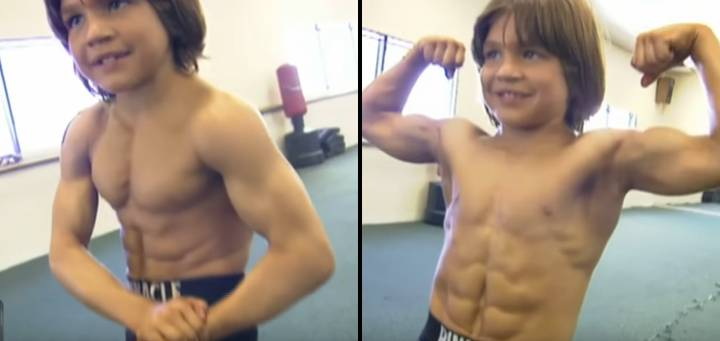 This Is What Former World's Strongest Boy Looks Like Now