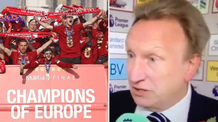 Neil Warnock Perfectly Predicted How Liverpool's Season Would Go
