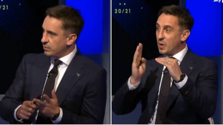 """Gary Neville Names The Premier League Star Who's """"Not Far"""" From Being The Best Player In The World"""