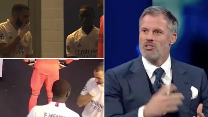 Jamie Carragher Has His Say On Karim Benzema's Extraordinary Vinicius Junior Rant