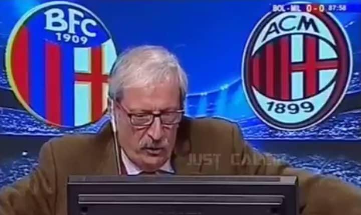 WATCH: Italian Commentator Goes Absolutely Nuts After AC Milan Score Last Minute Winner