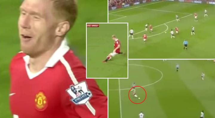Paul Scholes Midfield Masterclass For Man United From 2010 Goes Viral