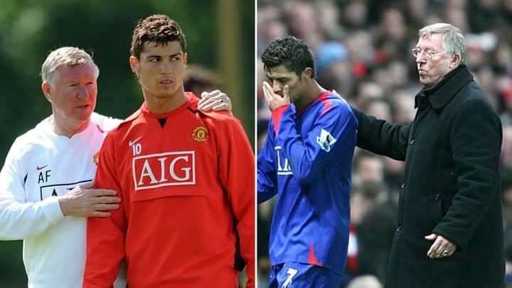 Sir Alex Ferguson Once Left Cristiano Ronaldo In Tears After Brutal 'Hair-Dryer' Treatment