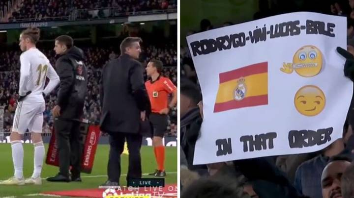 Real Madrid Fans Boo Gareth Bale On Return After Wales Flag Incident