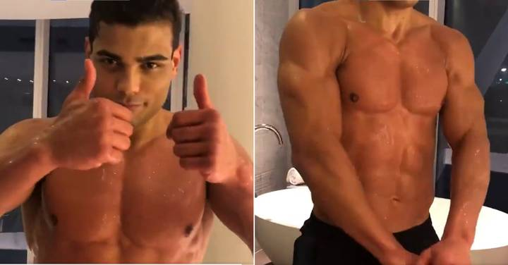 UFC Fans Fear Paulo Costa Won't Make Weight As He Shows Off Ripped Physique