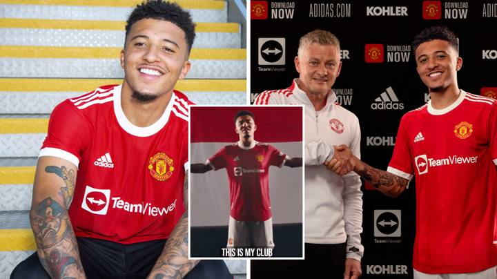 Manchester United Finally Announce They've Signed Jadon Sancho