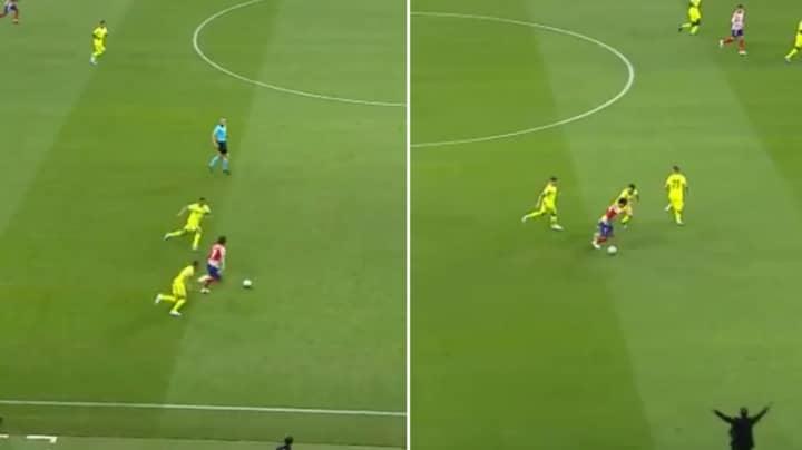 Atletico Madrid's Joao Felix Skins Three Getafe Players Before Winning Penalty On La Liga Debut
