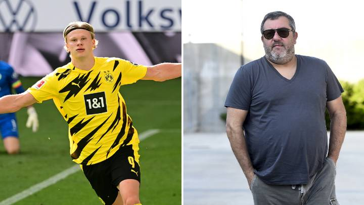 Mino Raiola Reportedly Employing Dirty Tactics To Secure Erling Haaland Move This Summer
