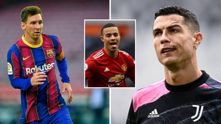 Mason Greenwood Gives His Opinion On Cristiano Ronaldo Vs Lionel Messi Debate