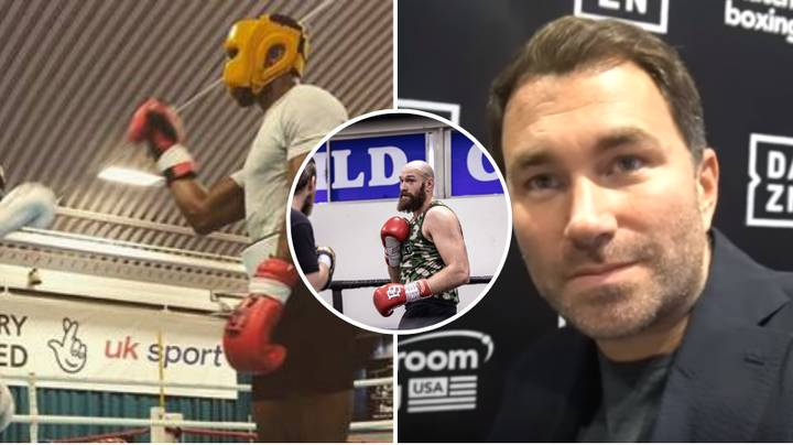 Eddie Hearn 'Wouldn't Be Surprised' If Joshua Sparred With Fury Ahead Of Wilder Fight