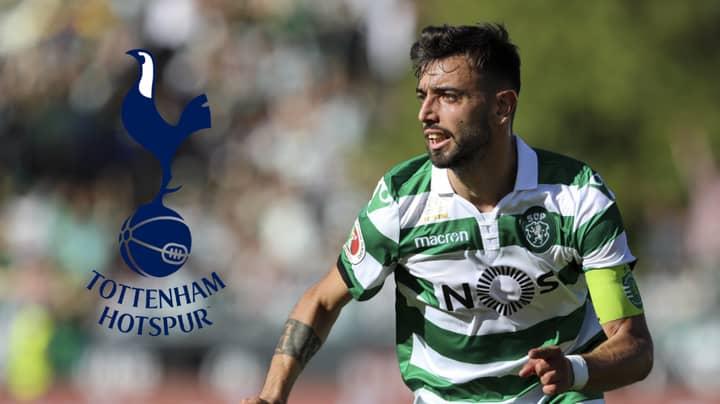Tottenham Send Representative To Lisbon To Negotiate A Deal For Bruno Fernandes