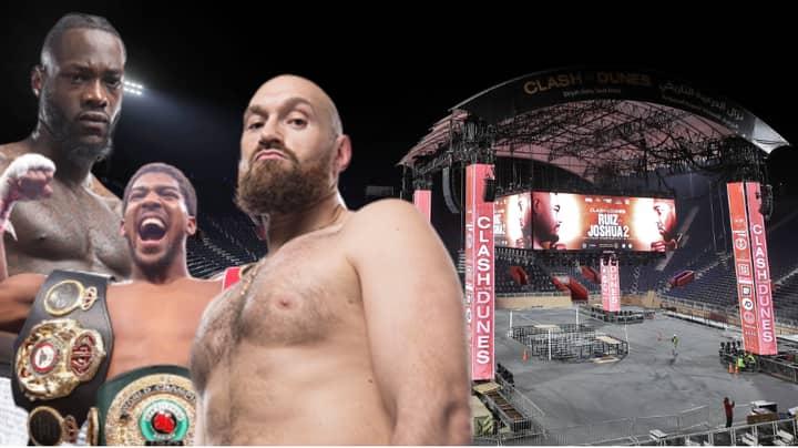 Anthony Joshua's Team Receive 'Huge Offer' To Face Winner Of Deontay Wilder Vs. Tyson Fury In Saudi Arabia