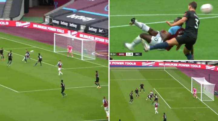 Michail Antonio Scores Sensational Bicycle Kick To Shock Manchester City