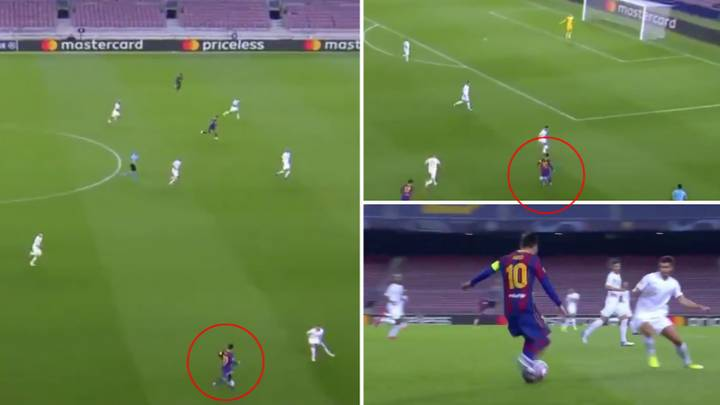 Lionel Messi Proves He Is Still The World's Best At Dribbling With Amazing Solo Run To Win Penalty