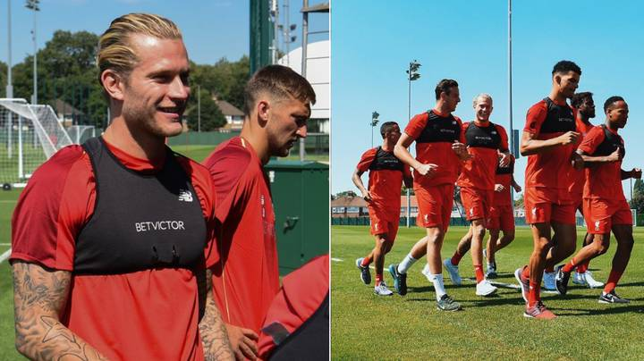 Loris Karius Receives Truly Incredible Welcome On His Return To Liverpool Training