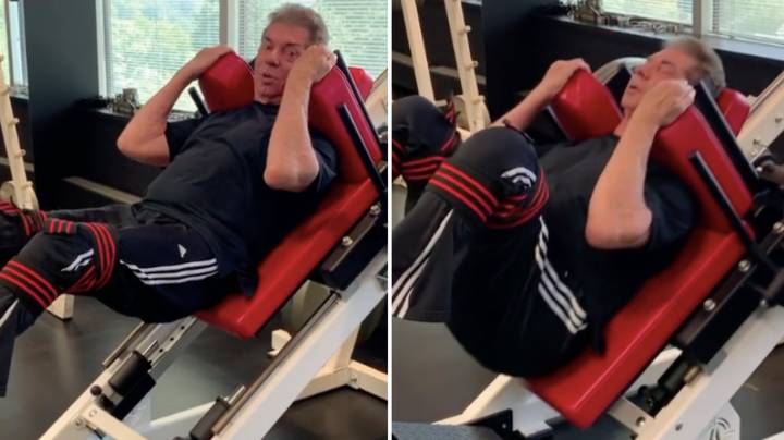 Footage Of 75-Year-Old Vince McMahon In The Gym Proves He's Not Human