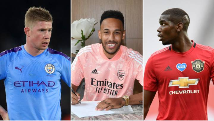 Ten Highest Paid Premier League Players After Pierre-Emerick Aubameyang Signs Mega New Contract