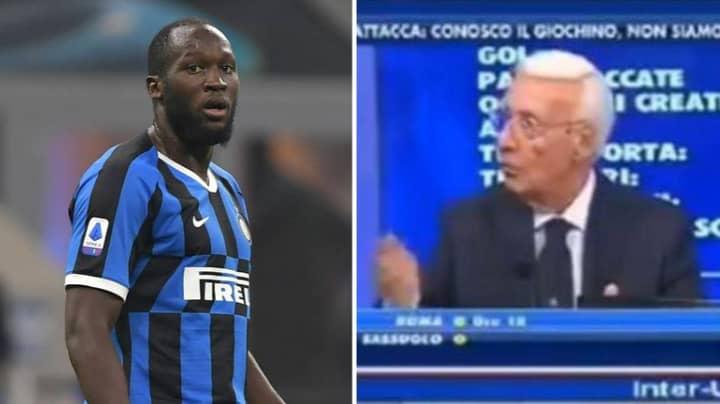 Italian TV Pundit Aims Racist Abuse At Romelu Lukaku