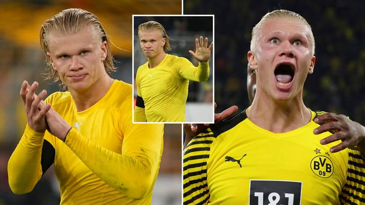 """Erling Haaland """"Laughed And Walked Off"""" After Refusing Shirt Swap With Upset Opponent"""