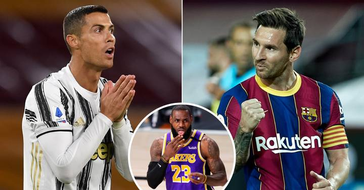 Lionel Messi Beats Cristiano Ronaldo In Top 50 Athletes List