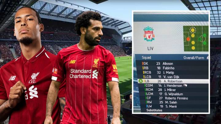 Someone Has Recreated Liverpool's Current Team On FIFA 14
