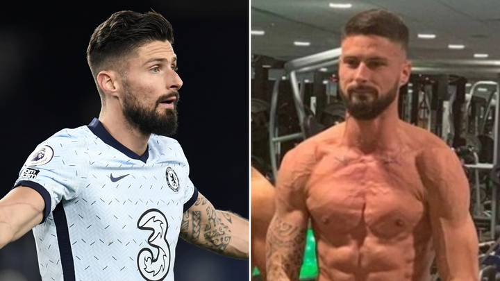 Olivier Giroud Insane Fitness Regime Revealed And He's Absolutely Shredded At 34-Years-Old