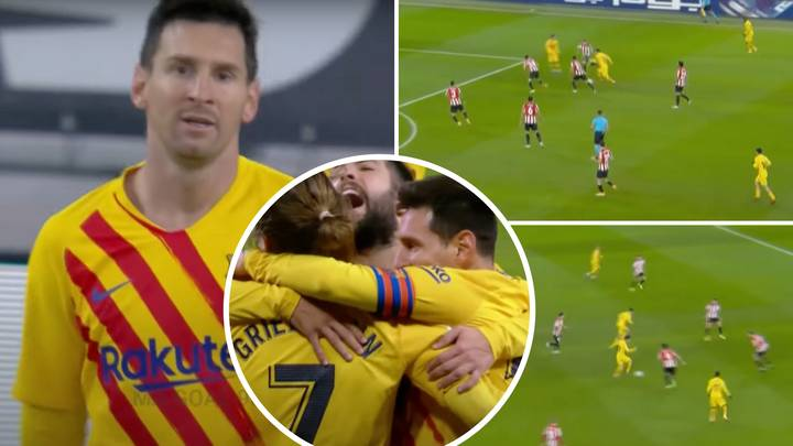 Barcelona Superstar Lionel Messi's 'Masterclass Performance' Against Athletic Bilbao Turned Into Compilation